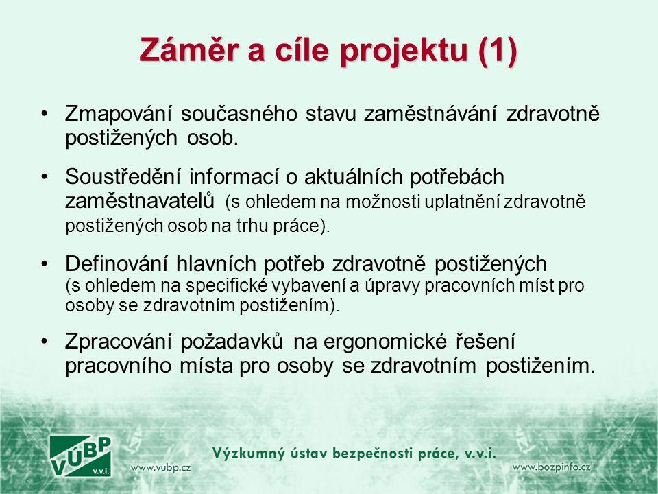 Záměr a cíle projektu (1)