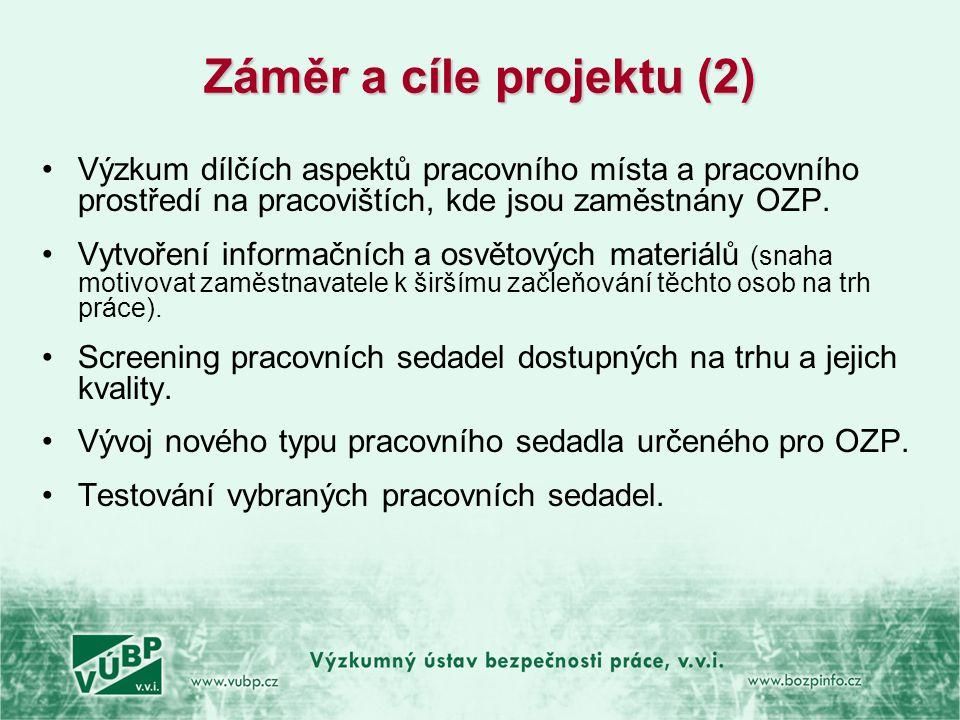 Záměr a cíle projektu (2)