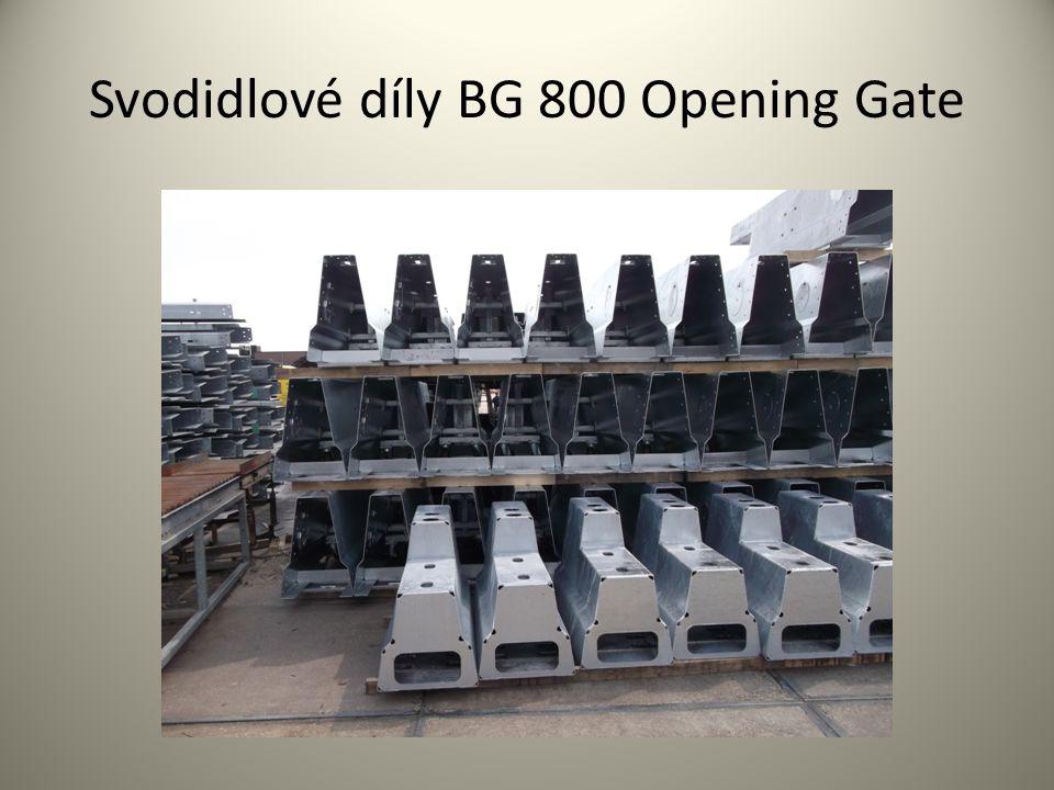 Svodidlové díly BG 800 Opening Gate