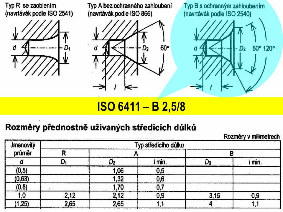 ISO 6411 – B 2,5/8