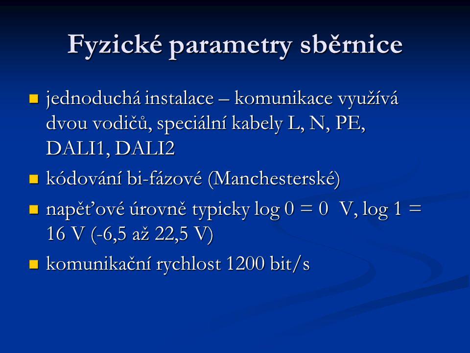 Fyzické parametry sběrnice