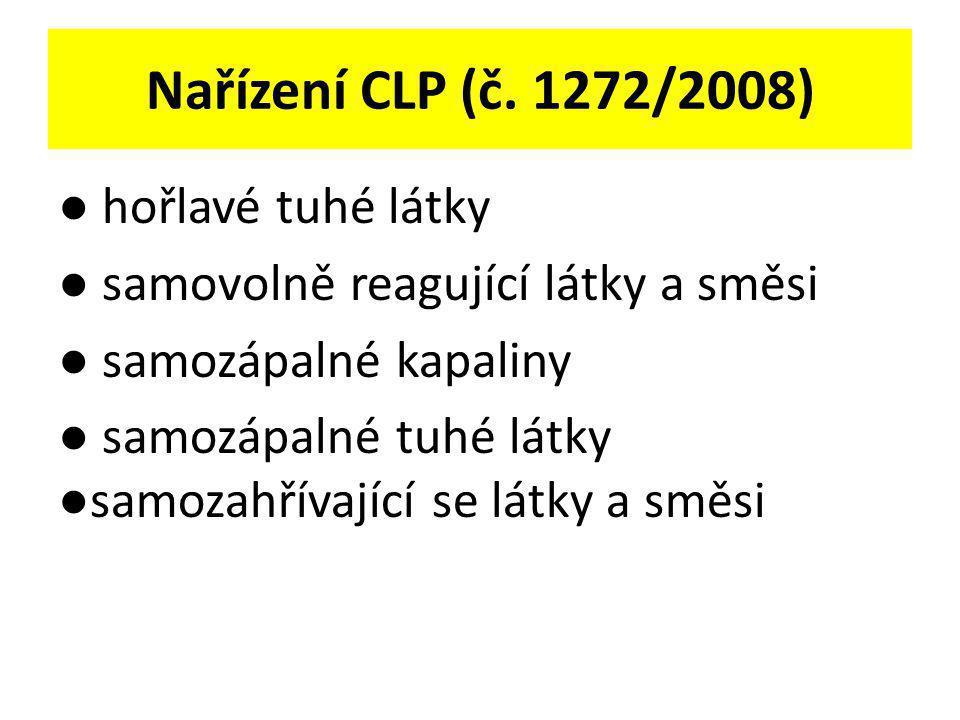 Nařízení CLP (č. 1272/2008)
