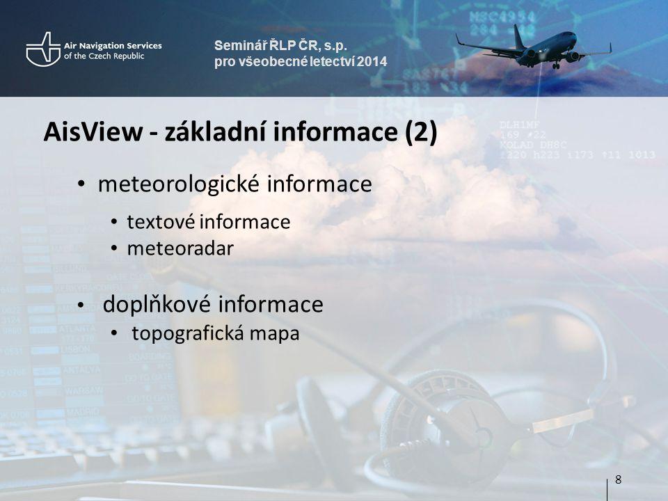 AisView - základní informace (2)