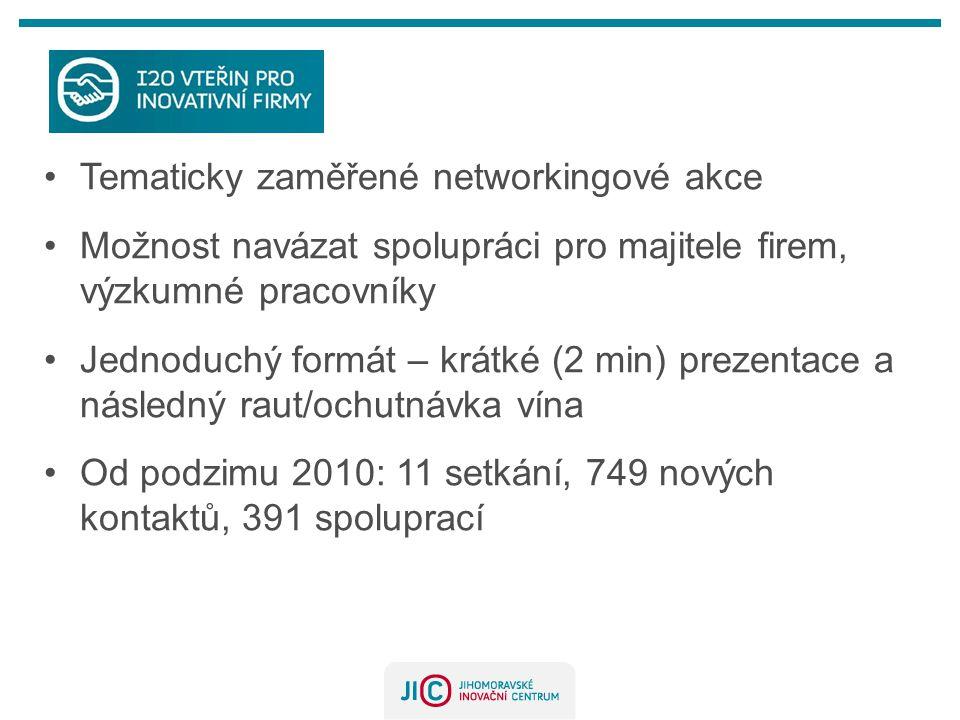 Tematicky zaměřené networkingové akce
