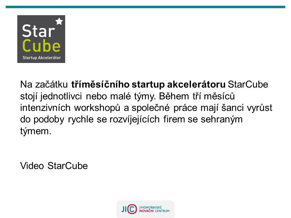 Na začátku tříměsíčního startup akcelerátoru StarCube stojí jednotlivci nebo malé týmy. Během tří měsíců intenzivních workshopů a společné práce mají šanci vyrůst do podoby rychle se rozvíjejících firem se sehraným týmem.