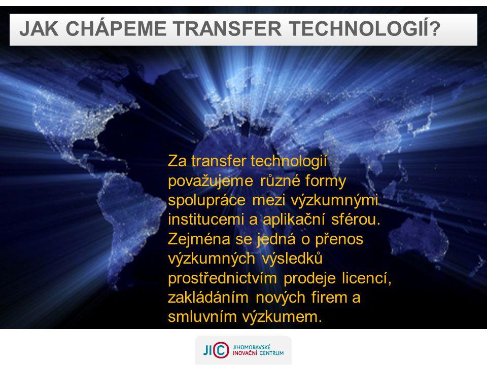 Jak chápeme transfer technologií