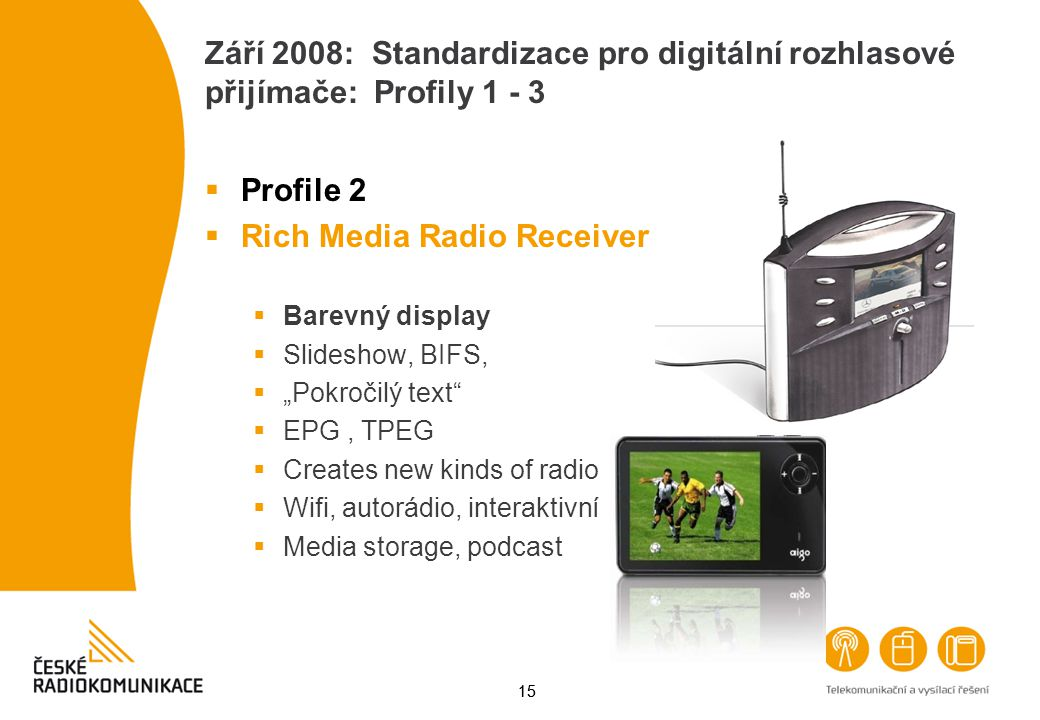 Rich Media Radio Receiver