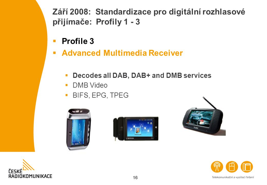 Advanced Multimedia Receiver