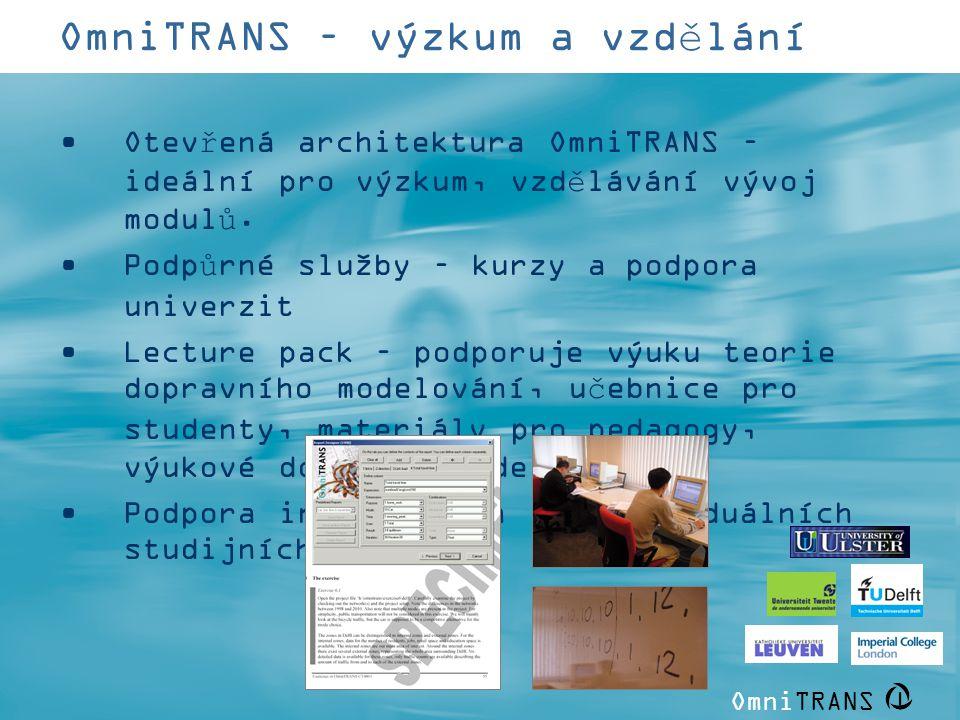 OmniTRANS – výzkum a vzdělání
