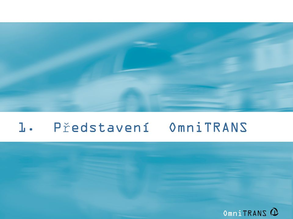 1. Představení OmniTRANS