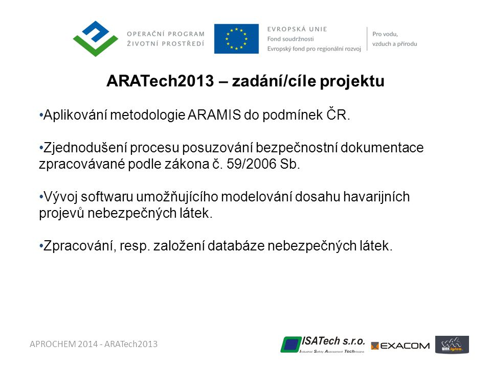 ARATech2013 – zadání/cíle projektu