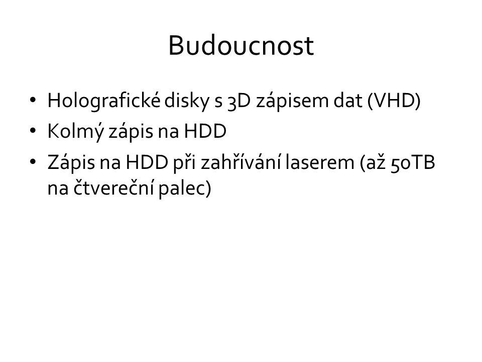 Budoucnost Holografické disky s 3D zápisem dat (VHD)