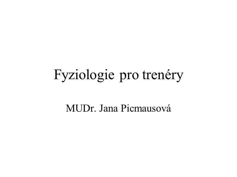 Fyziologie pro trenéry