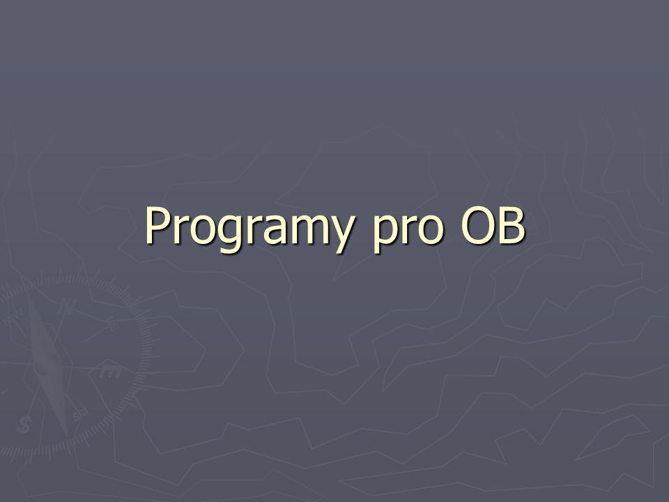 Programy pro OB