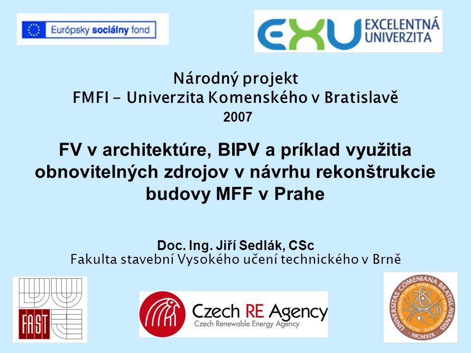 Národný projekt FMFI - Univerzita Komenského v Bratislavě 2007