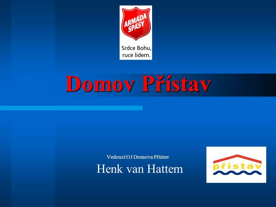 Vedoucí OJ Domova Přístav Henk van Hattem