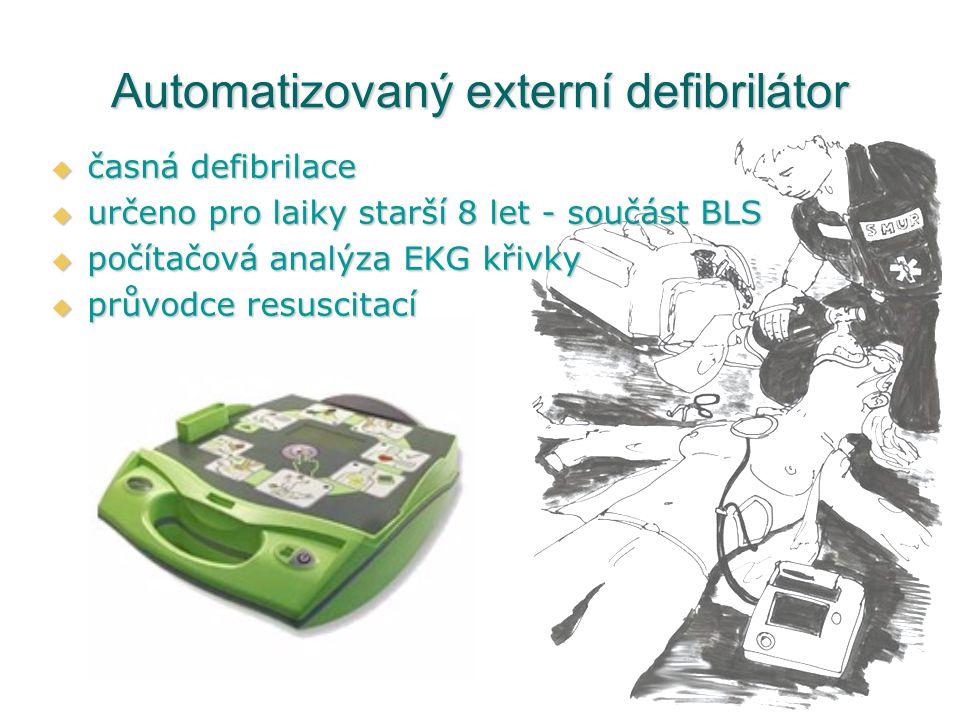 Automatizovaný externí defibrilátor