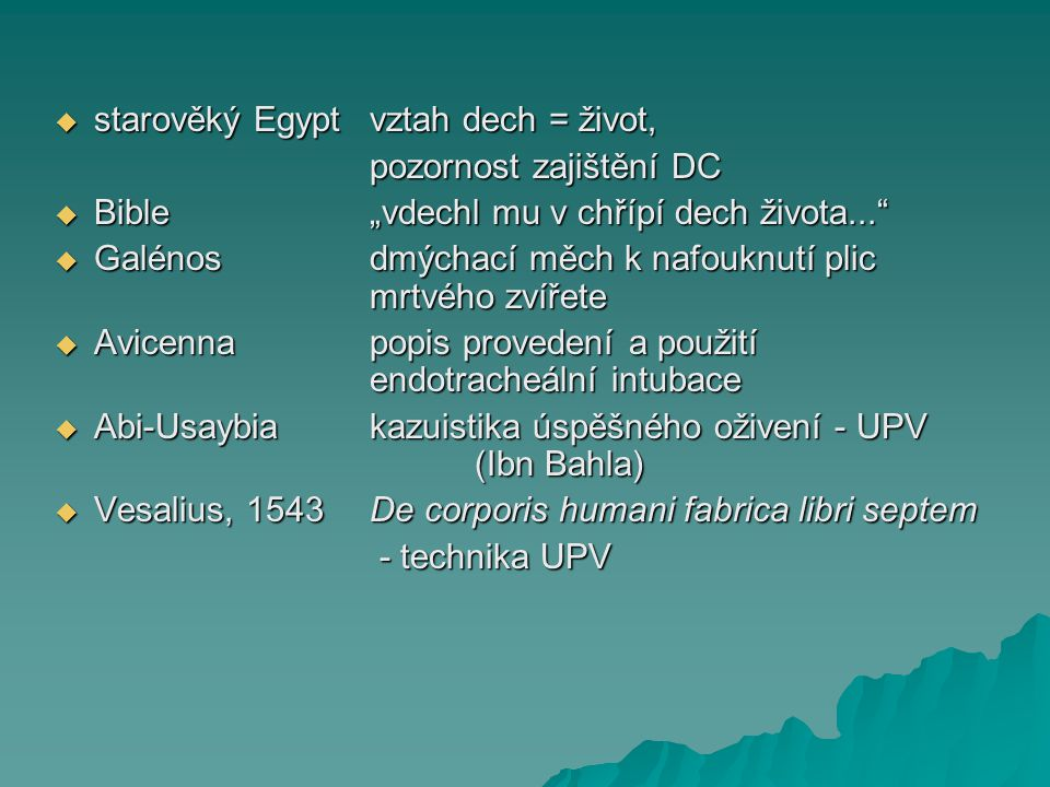 starověký Egypt vztah dech = život,