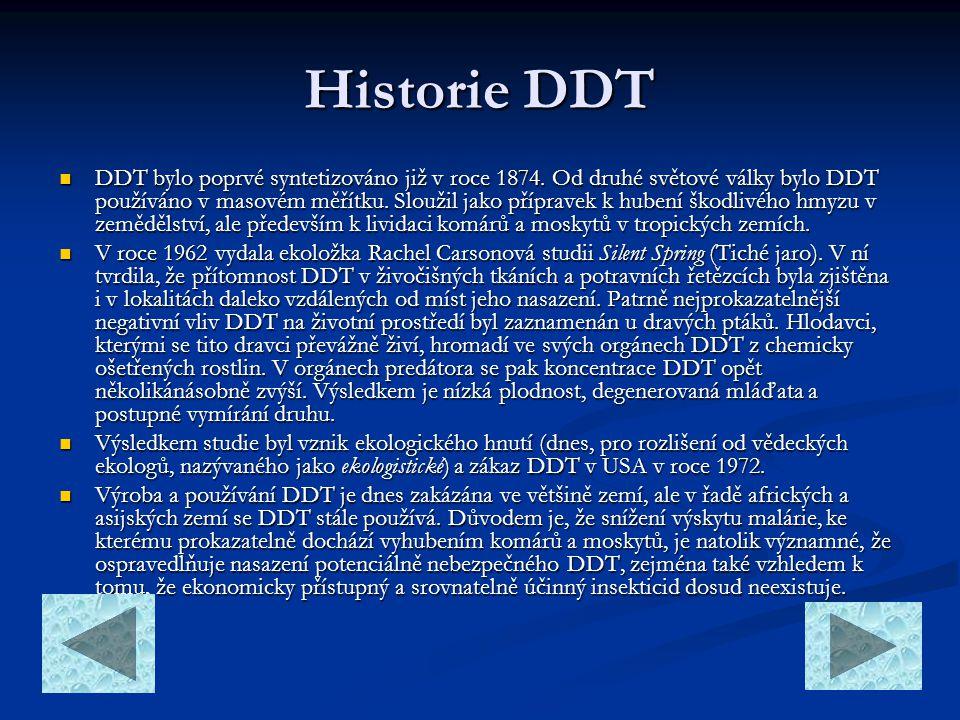 Historie DDT