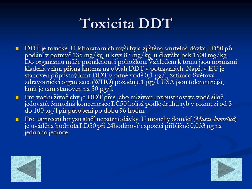 Toxicita DDT