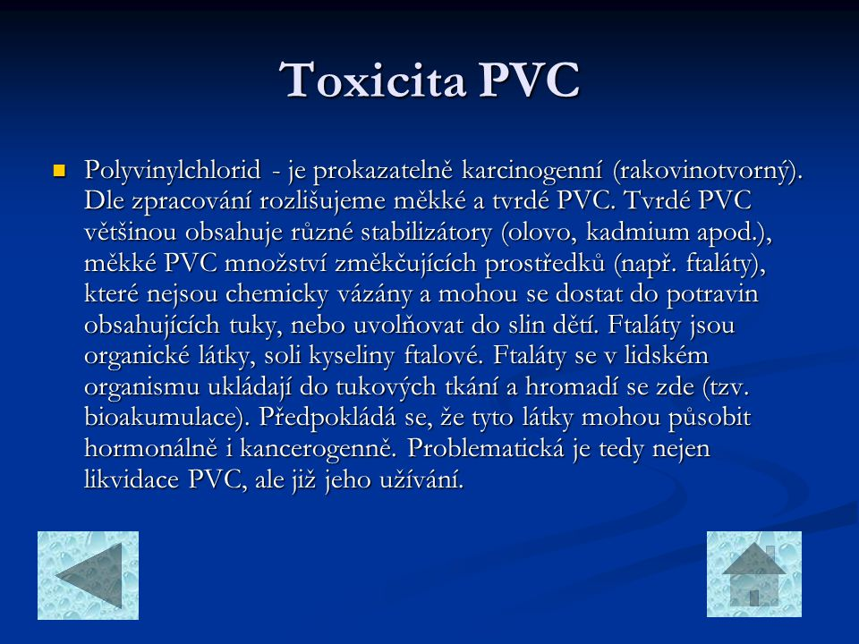 Toxicita PVC