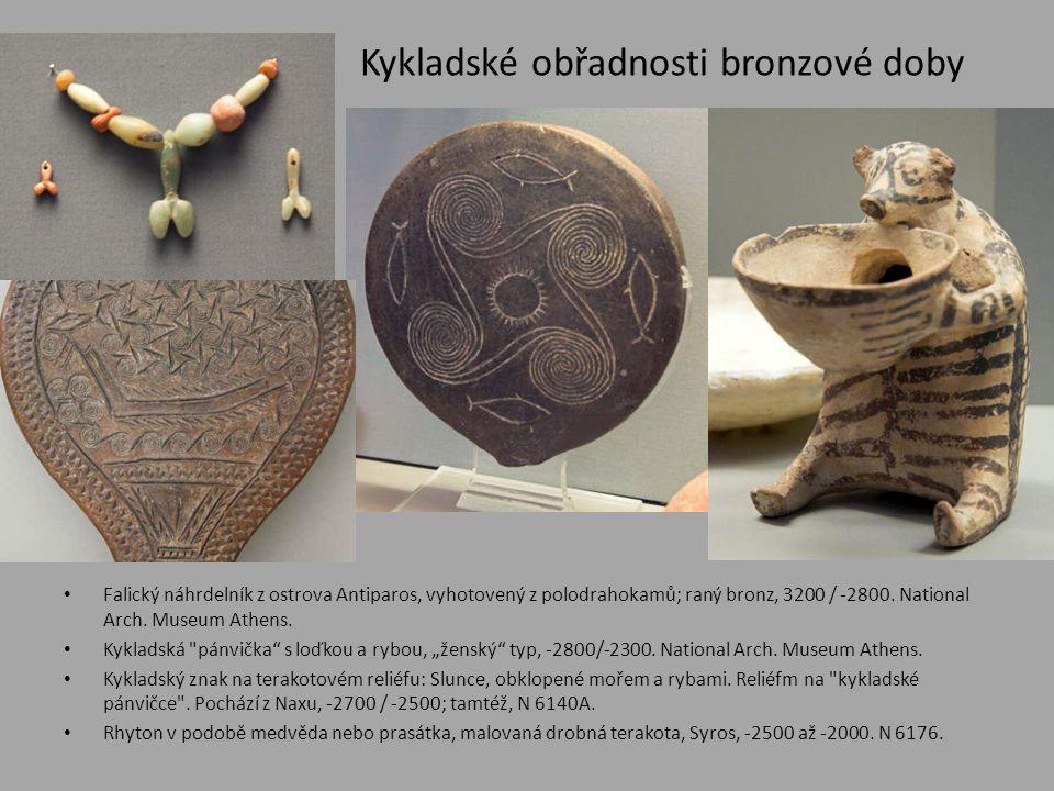 Kykladské obřadnosti bronzové doby