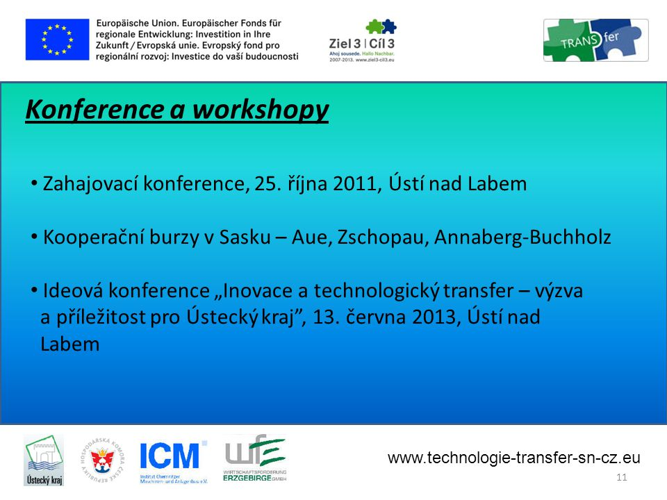 Konference a workshopy