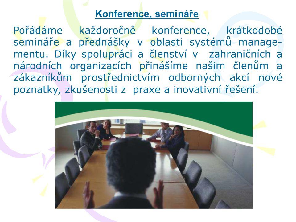 Konference, semináře