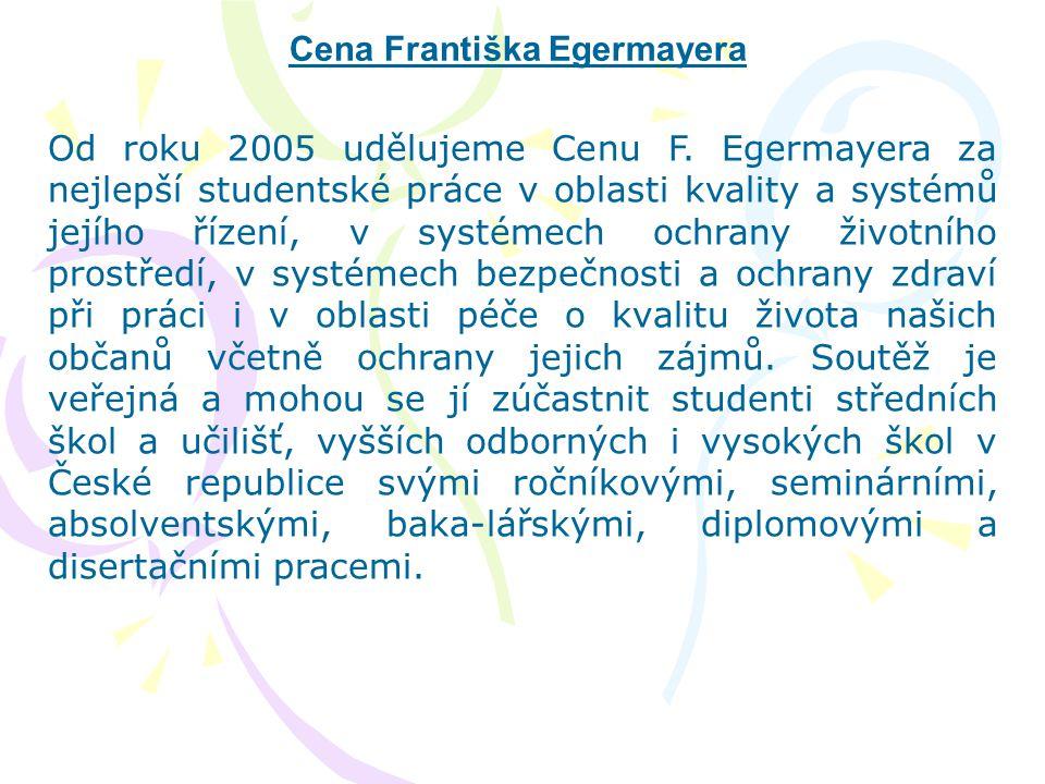Cena Františka Egermayera