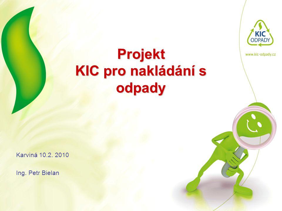 Projekt KIC pro nakládání s odpady