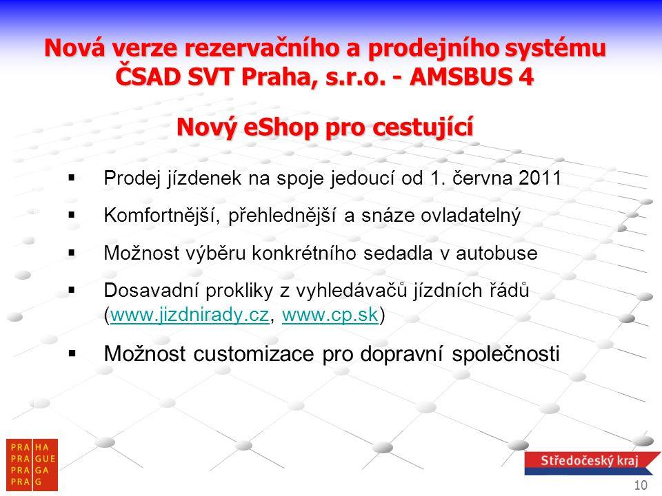 Nová verze rezervačního a prodejního systému
