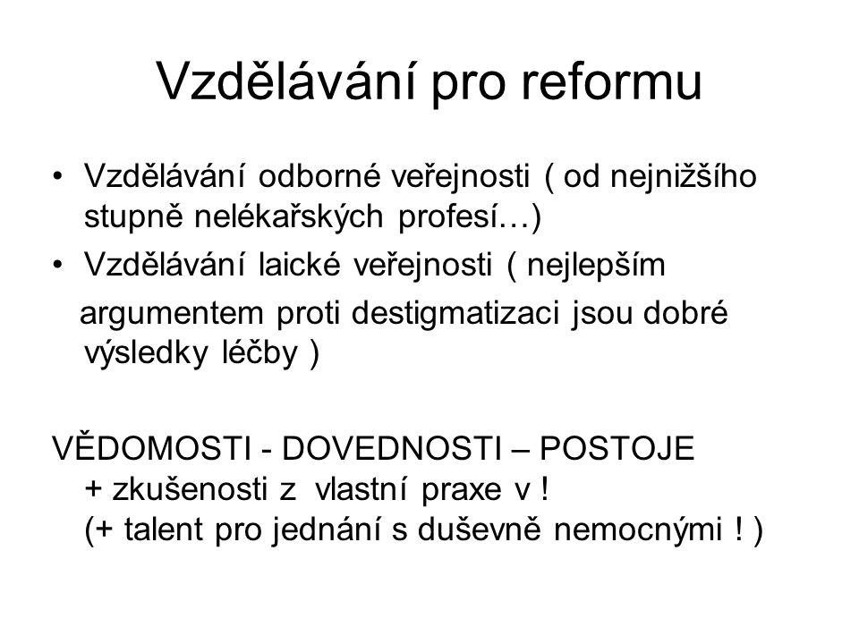 Vzdělávání pro reformu