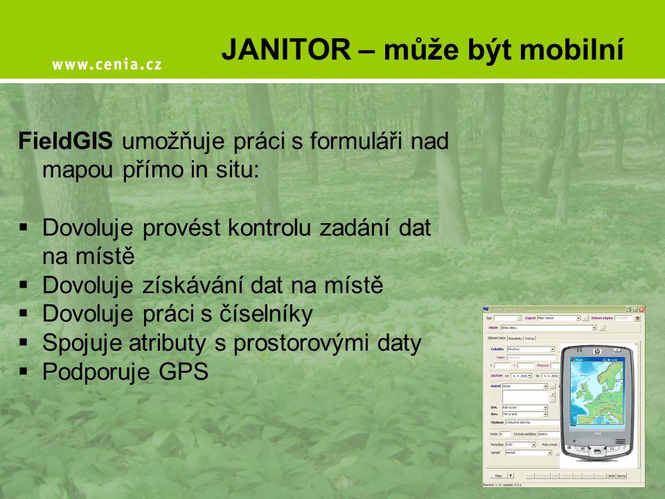 JANITOR – může být mobilní