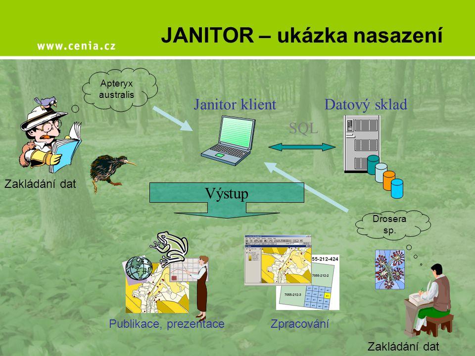 JANITOR – ukázka nasazení