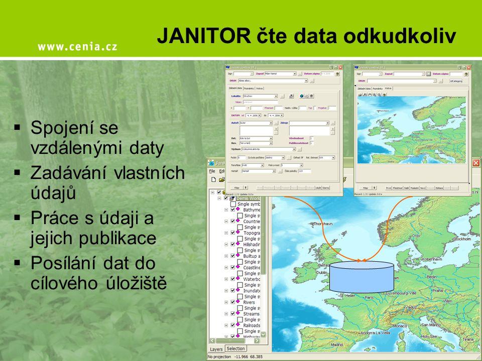 JANITOR čte data odkudkoliv
