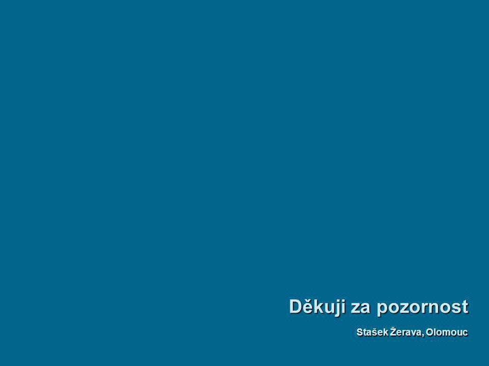 Děkuji za pozornost Stašek Žerava, Olomouc