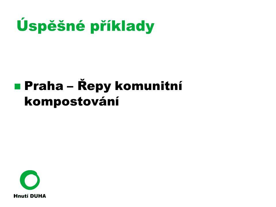 Úspěšné příklady Praha – Řepy komunitní kompostování