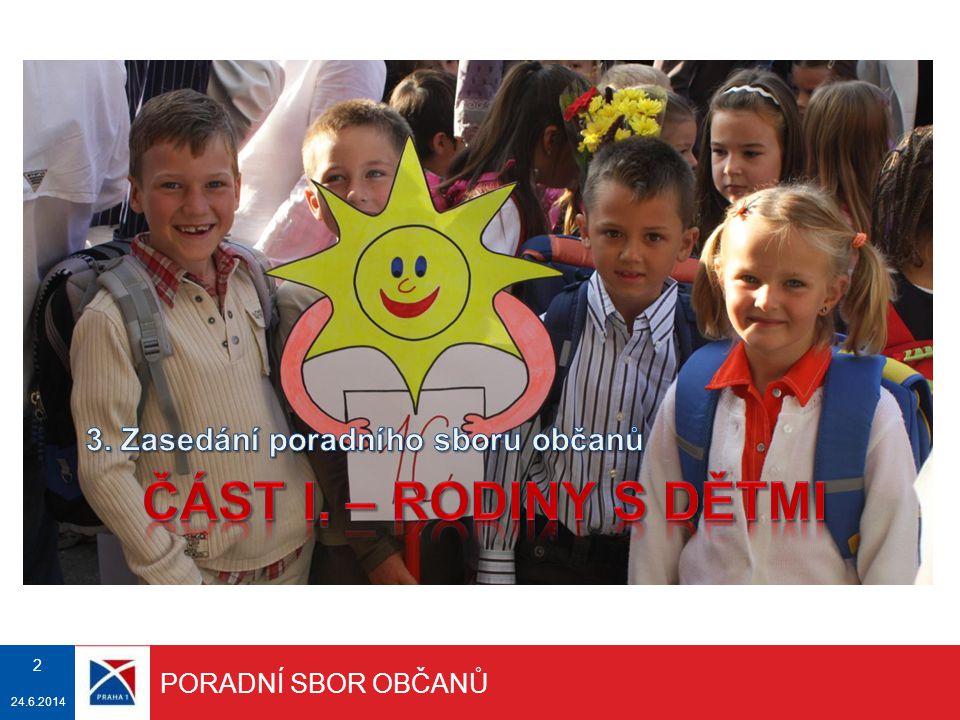 DĚTSKÁ HŘIŠTĚ Městská část Praha 1 v současnosti provozuje 10 dětských hřišť.