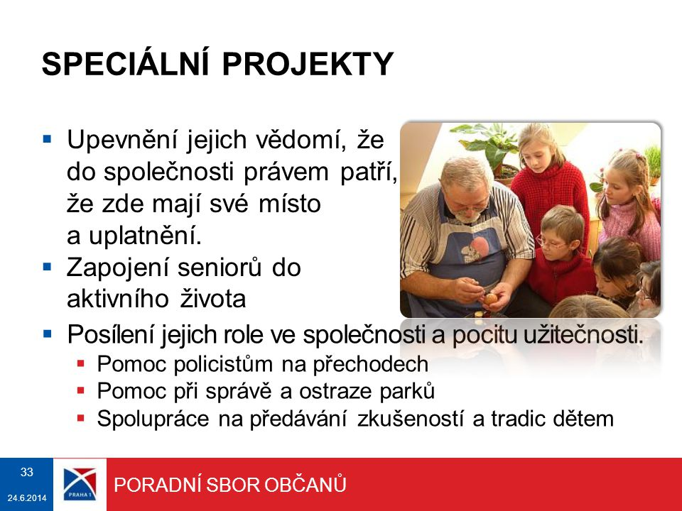 DĚKUJI ZA POZORNOST MČ Praha 1 pečuje o budoucnost