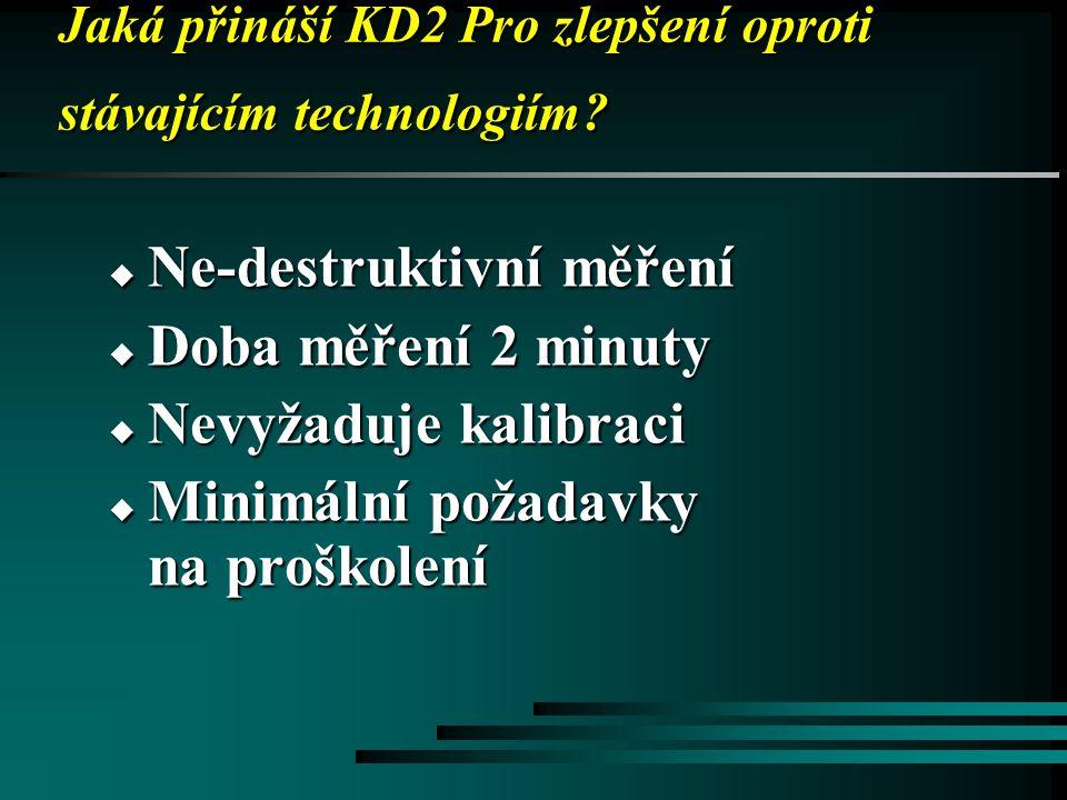 Jaká přináší KD2 Pro zlepšení oproti stávajícím technologiím