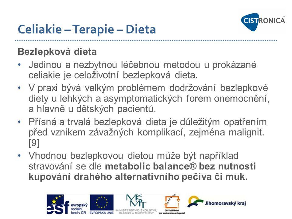 Celiakie – Terapie – Dieta