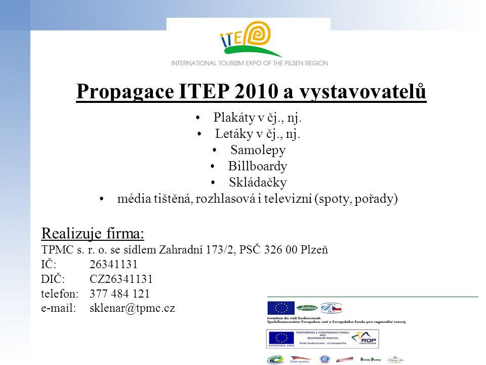 Propagace ITEP 2010 a vystavovatelů