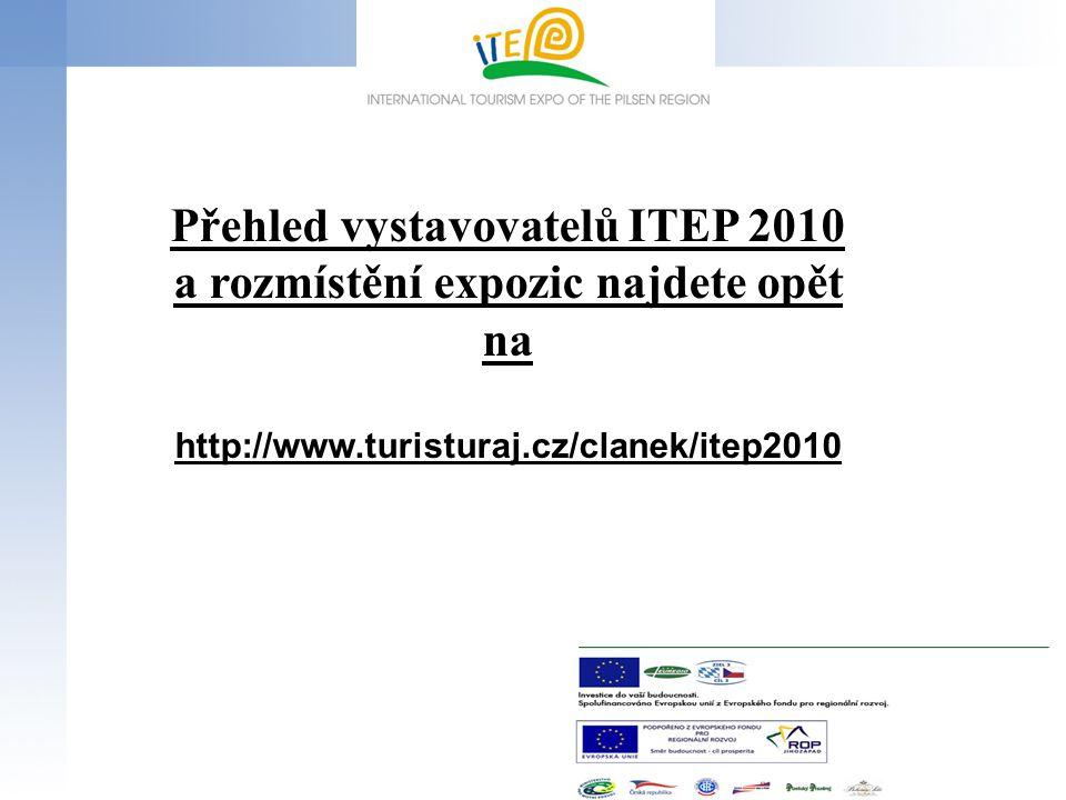 Přehled vystavovatelů ITEP 2010 a rozmístění expozic najdete opět na