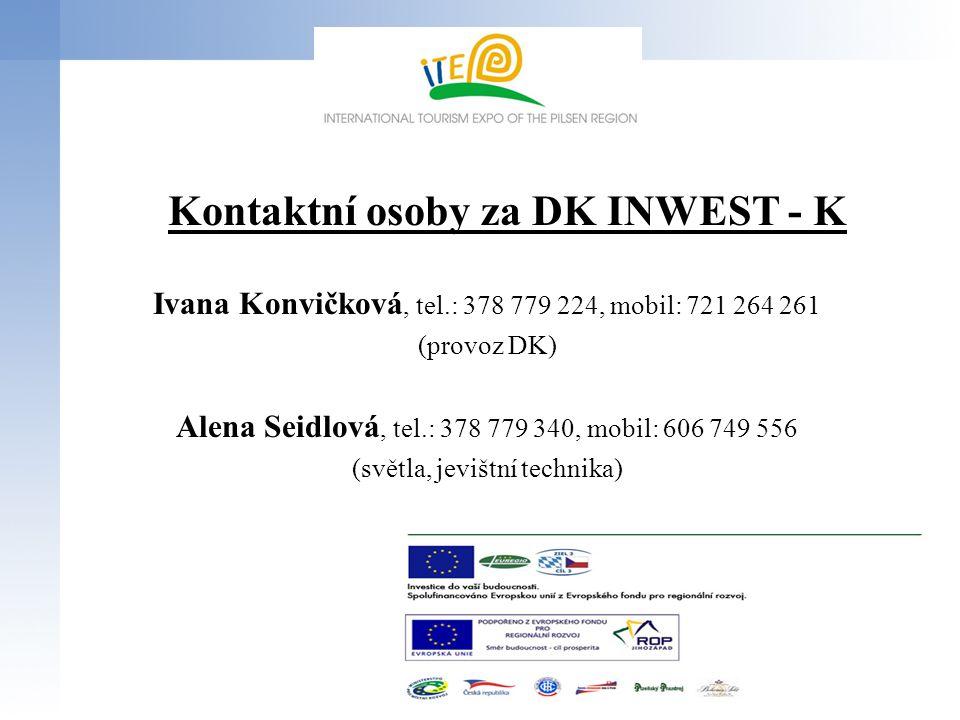 Kontaktní osoby za DK INWEST - K