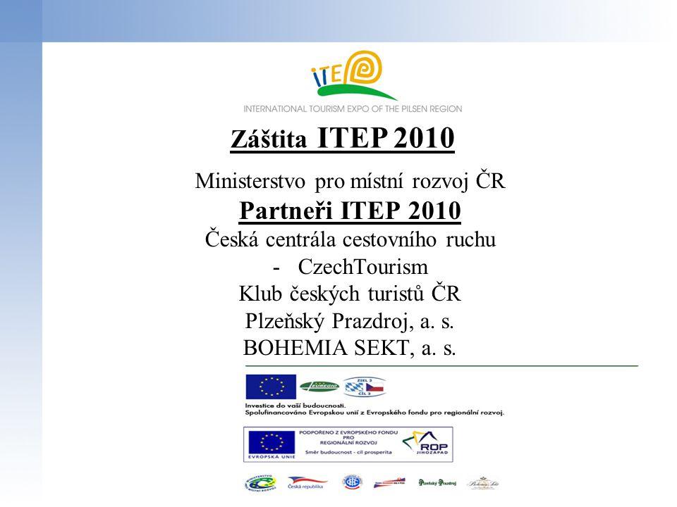 Záštita ITEP 2010 Partneři ITEP 2010