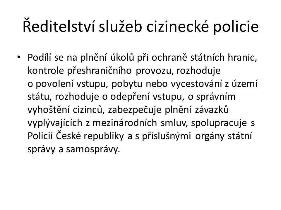 Ředitelství služeb cizinecké policie