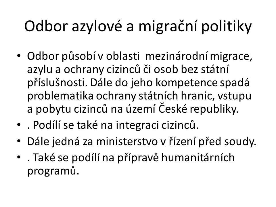 Odbor azylové a migrační politiky