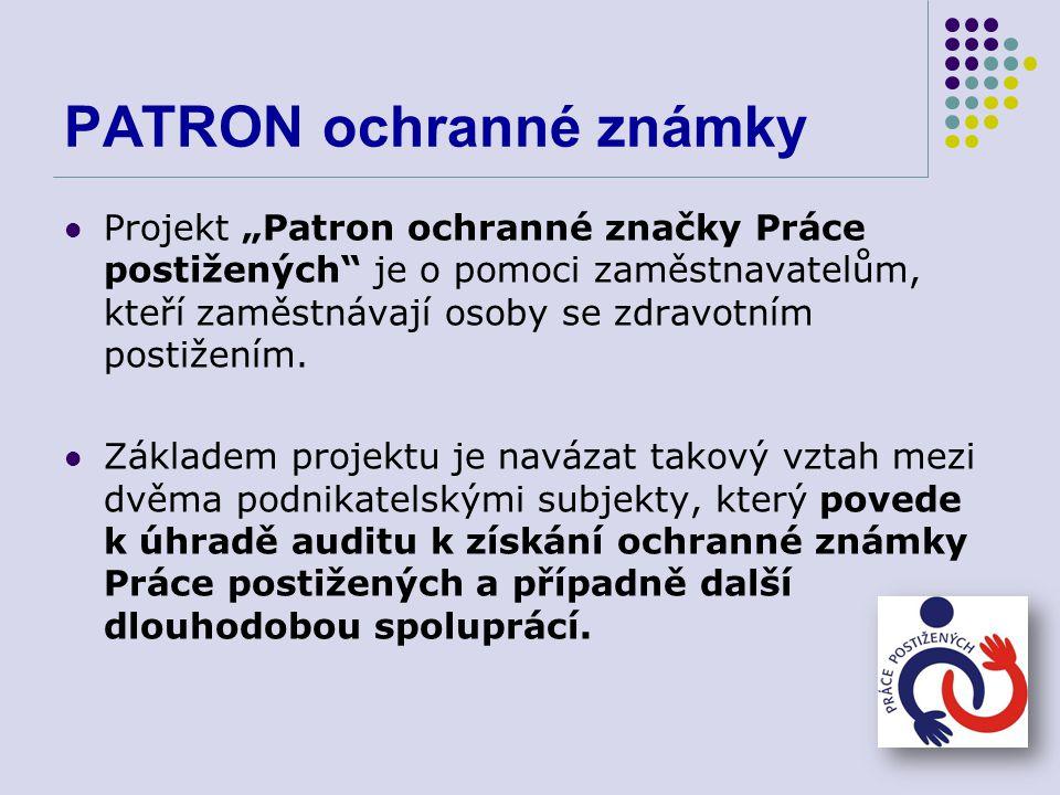 PATRON ochranné známky