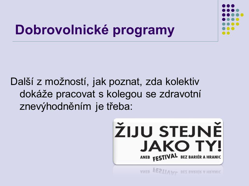 Dobrovolnické programy