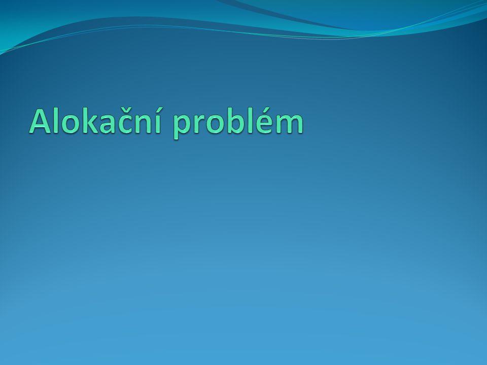 Alokační problém